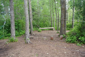 Low Ropes Area